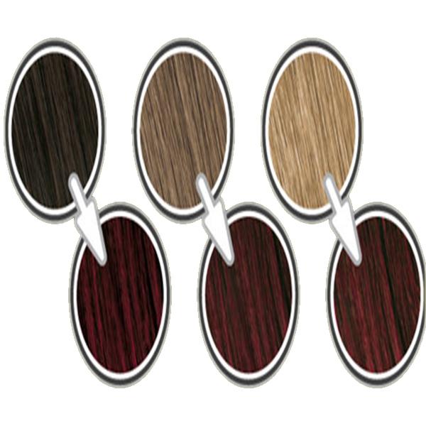 رنگ موی کالر اند سوان قبل و بعد از گذاشتن
