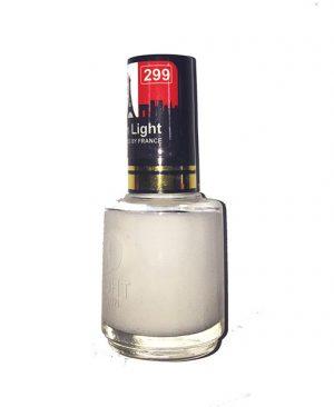 لاک ناخن مون لایت شماره 299 رنگ سفید مات