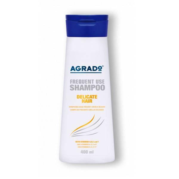 شامپو تقویتی موهای شکننده و حساس آگرادو