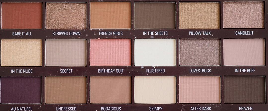 پالت سایه چشم شکلات Nudes رولوشن