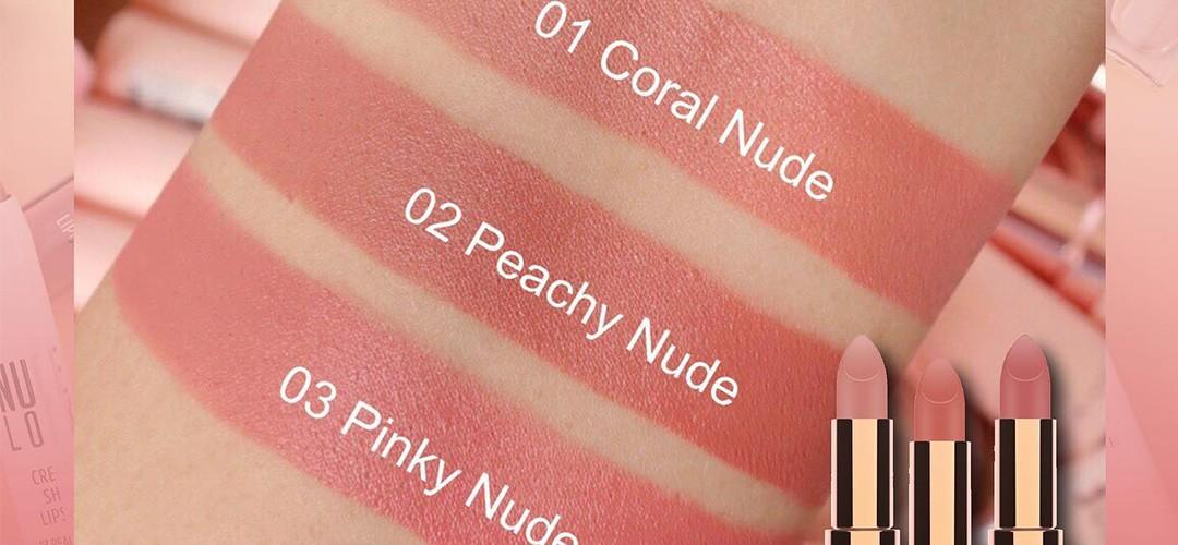 رژ لب جامد مات گلدن رز مدل Nude Look