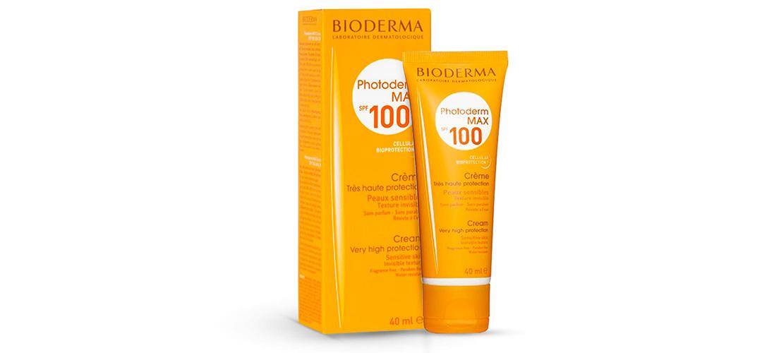 کرم ضد آفتاب SPF 100 بایودرما